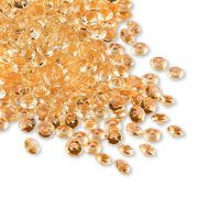 Premium Wedding table decorations 6mm Gold Diamantes